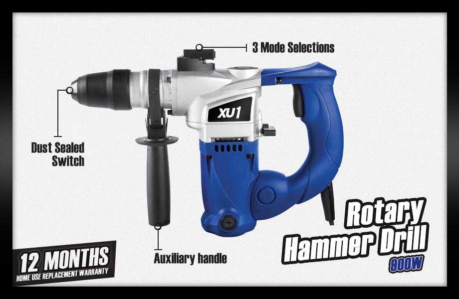 Rotary Hammer Drill.