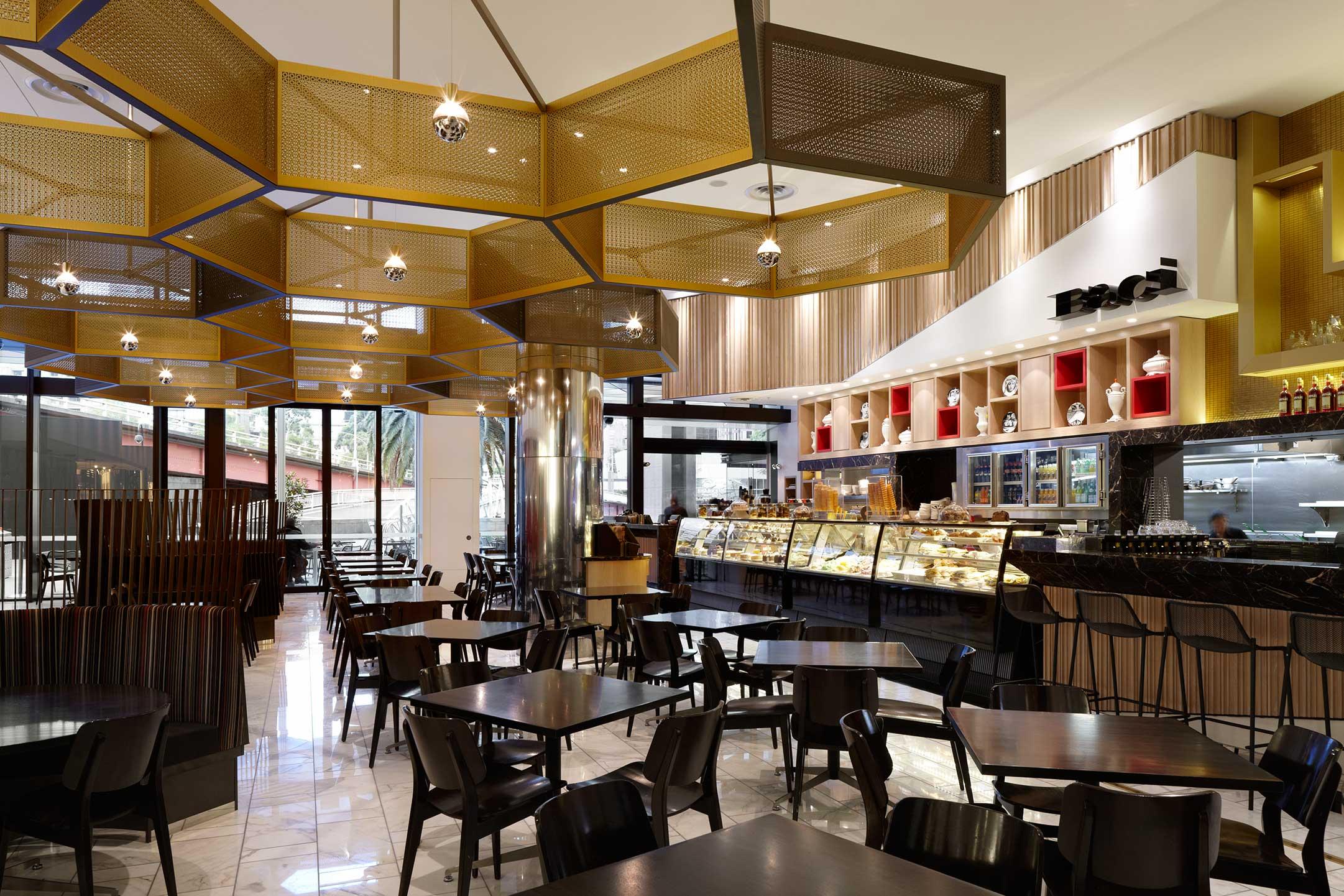 Cafe Baci Crown Casino Menu
