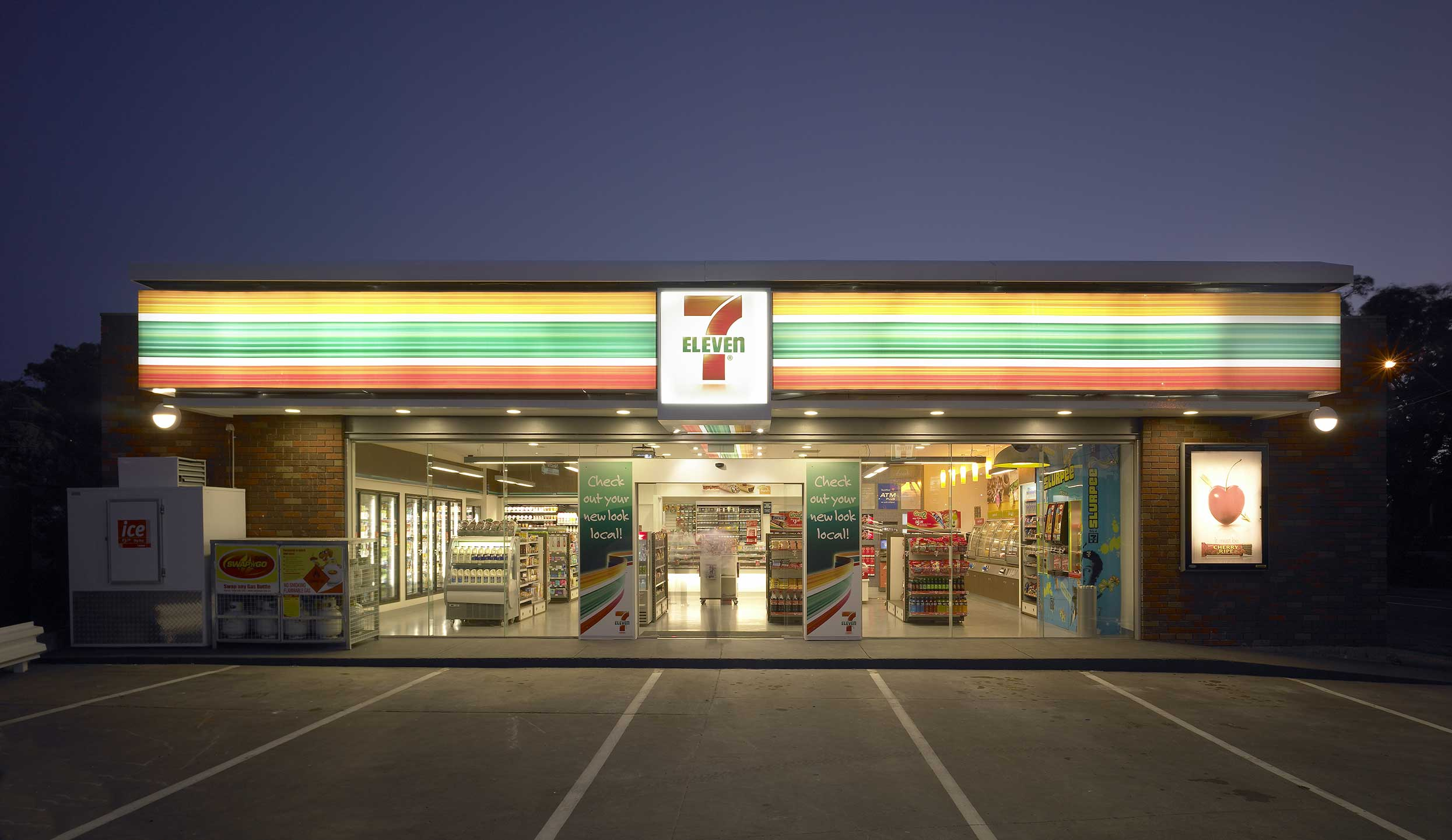 7 eleven Today is that magical day we've all been waiting for: july 11, better known as 7/ 11 and since it's 7/11, the beloved convenience store chain.